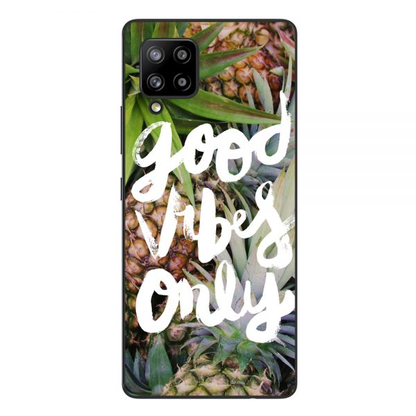 Husa-Samsung-Galaxy-A42-5G-Silicon-Gel-Tpu-Model-Good-Vibes-Only