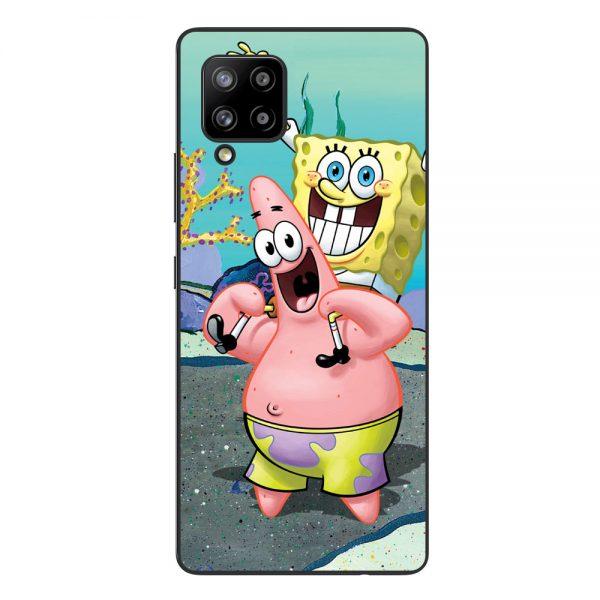Husa-Samsung-Galaxy-A42-5G-Silicon-Gel-Tpu-Model-Spongebob