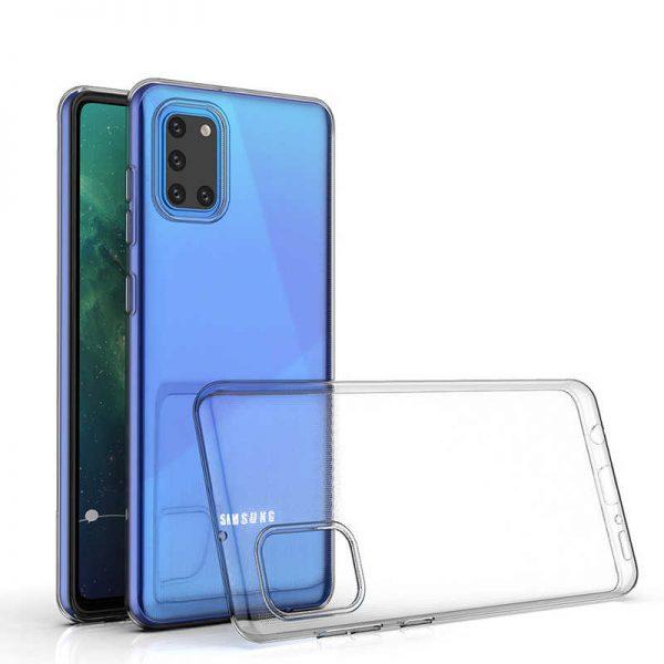 Husa Samsung Galaxy A31 Silicon Gel TPU Super Slim 0.5mm Transparenta