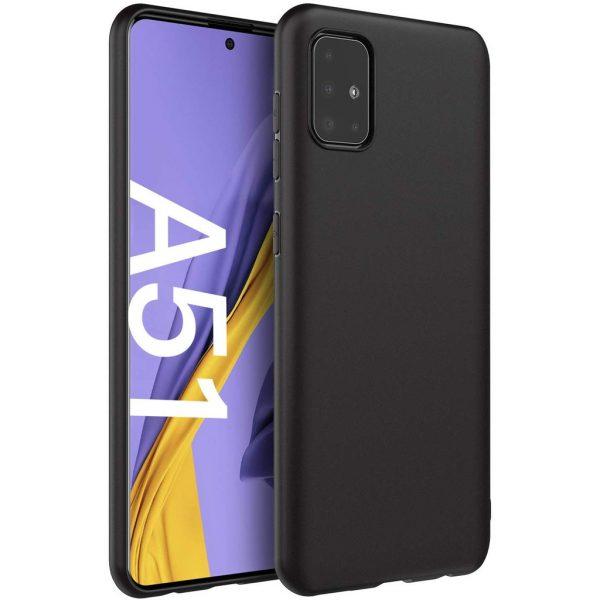 Husa Samsung Galaxy A51 Silicon Gel TPU Matte Neagra