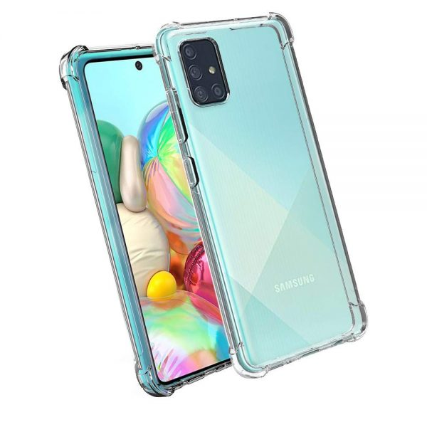 Husa Samsung Galaxy A71 Silicon Gel TPU ANTISHOCK Armour Transparenta