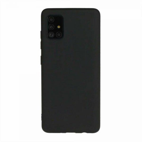 Husa Samsung Galaxy A71 Silicon Gel TPU Matte Neagra
