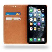 Husa Tip Carte Telefon Toc Book Flip Piele Naturala Inside Suport Carduri