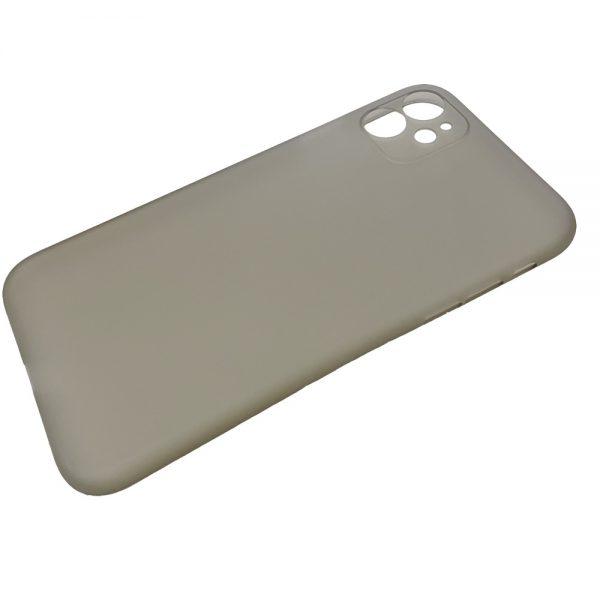 Husa iPhone 11 Ultra Slim PP Matte Gri