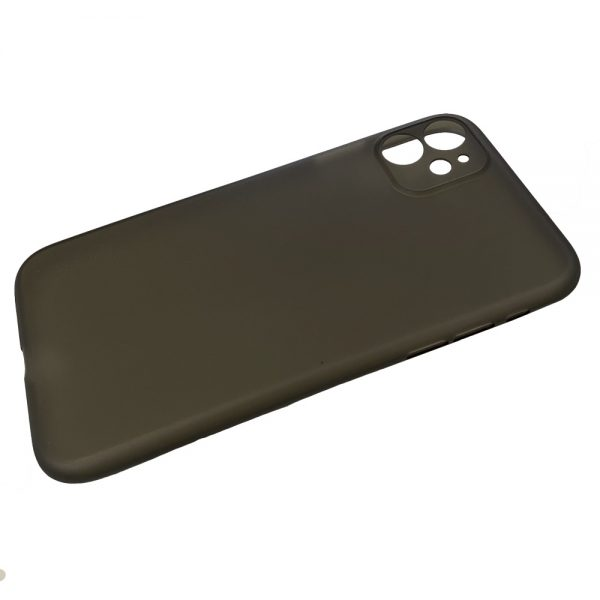 Husa iPhone 11 Ultra Slim PP Matte Neagra