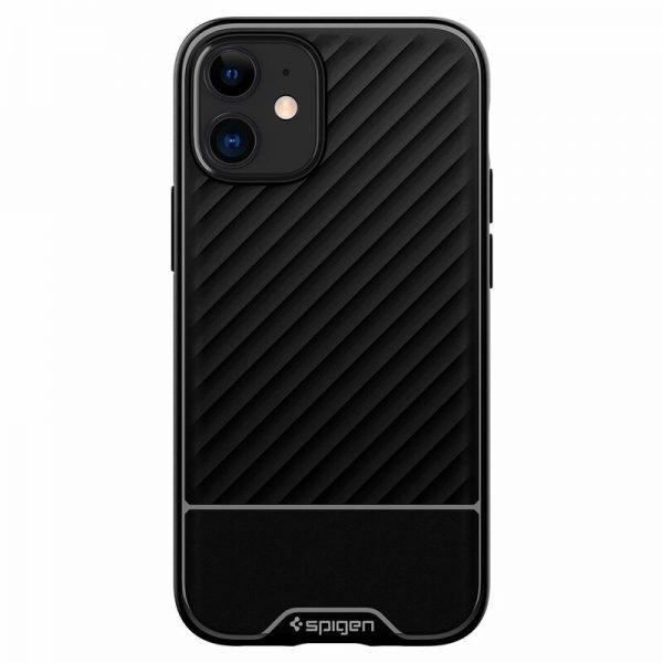 Husa iPhone 12 Mini Originala Premium Spigen Core Armor Silicon Neagra