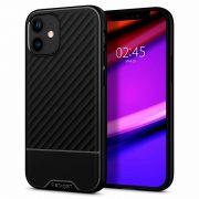 Husa iPhone 12 Mini Originala Premium Spigen Core Armor Silicon Neagra2