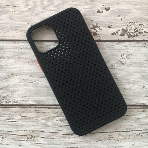 Husa-iPhone-12-Pro-Silicon-Breath-Neagra