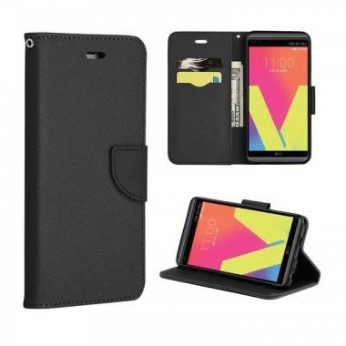 Husa-iPhone-6-si-6S-Piele-Ecologica-Fancy-Book-Neagra