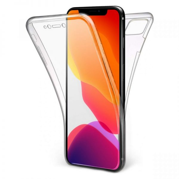 Husa-iPhone-6-si-6S-Slicon-360-Fata-Spate-Transparenta
