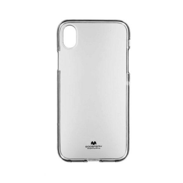 Husa-iPhone-X-si-XS-Silicon-Mercury-Jelly-Transparenta