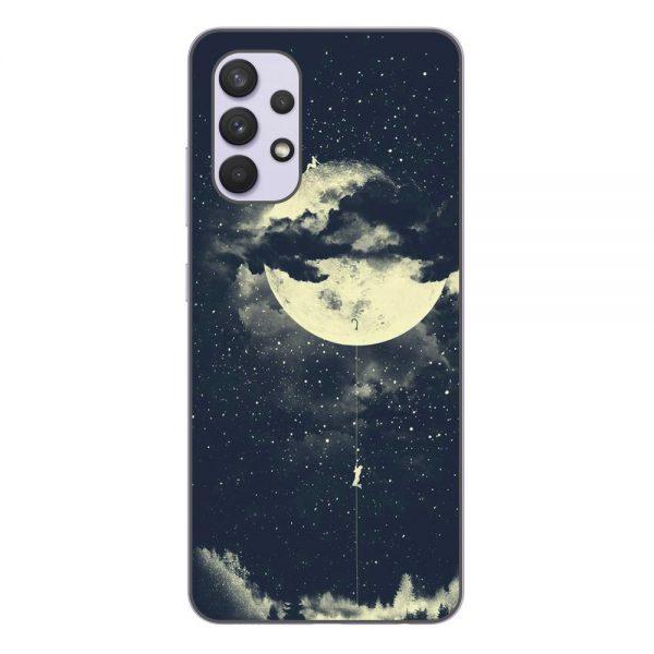 Husa-Samsung-Galaxy-A32-5G-Silicon-Gel-Tpu-Model-Moon-Climbing