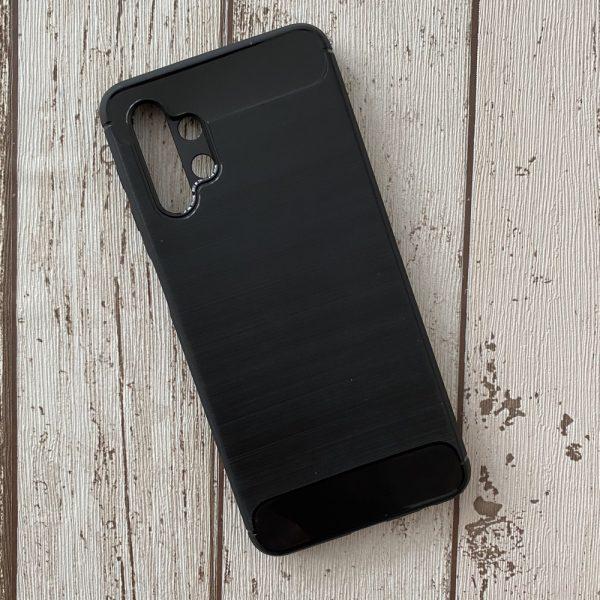 Husa Samsung Galaxy A32 5G Silicon Slim Armour Carbon Neagra