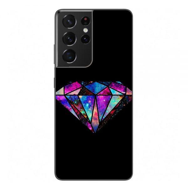 Husa-Samsung-Galaxy-S21-Ultra-Silicon-Gel-Tpu-Model-Diamond-Black