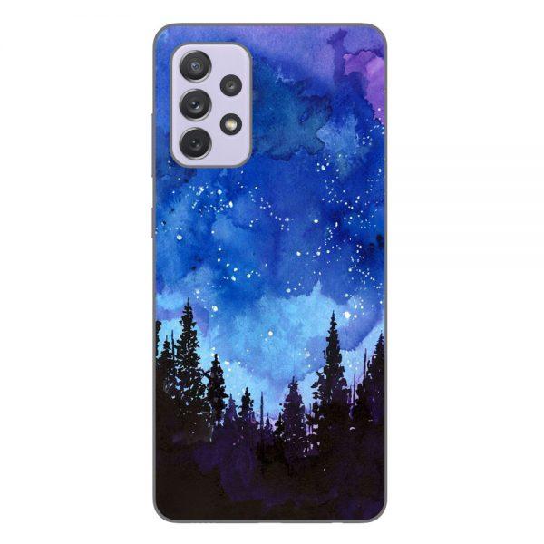 Husa-Samsung-Galaxy-A72-5G-Silicon-Gel-Tpu-Model-Night-Forest