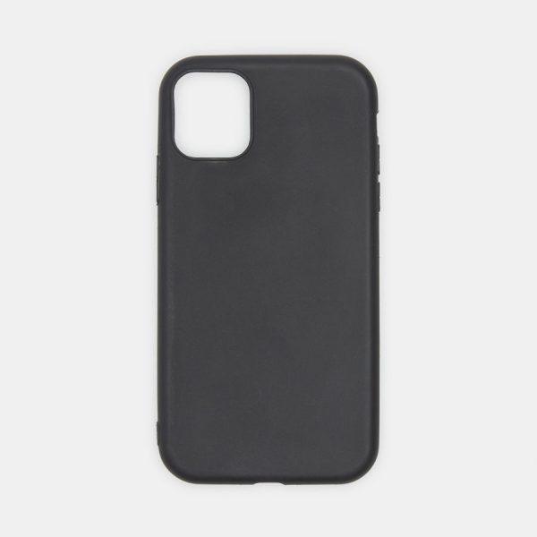 Husa iPhone 11 Silicon Matte Neagra